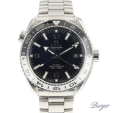 Omega - Seamaster Planet Ocean 600M Co-Axial GMT NEW!