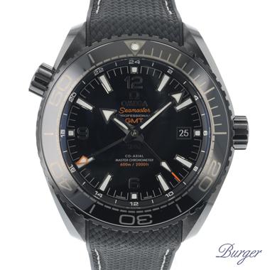 Omega - Seamaster Planet Ocean Deep Black GMT 45.5 MM NEW