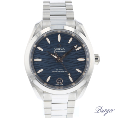 Omega - Seamaster Aqua Terra Blue 34 MM NEW!
