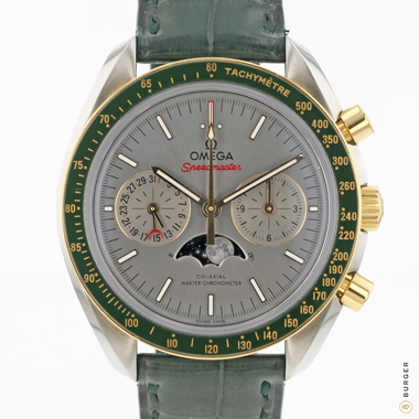 Omega - Speedmaster Steel Gold Green Co-Axial