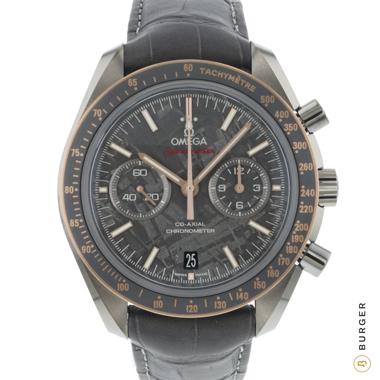 Omega - Speedmaster Moonwatch Grey Side of the Moon Meteorite NEW!
