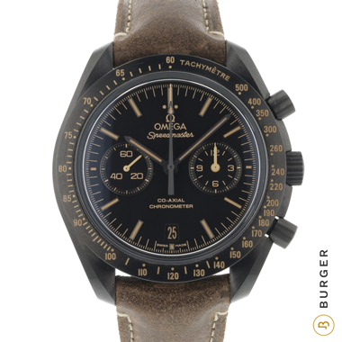 Omega - Speedmaster Moonwatch Co-Axial Dark Side of the Moon Vintage Black