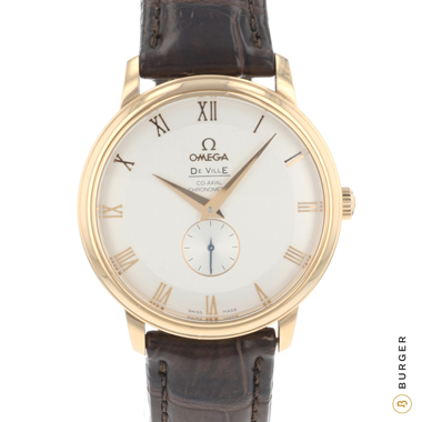 Omega - De Ville Prestige Co-Axial 39 Small Seconds Rose Gold