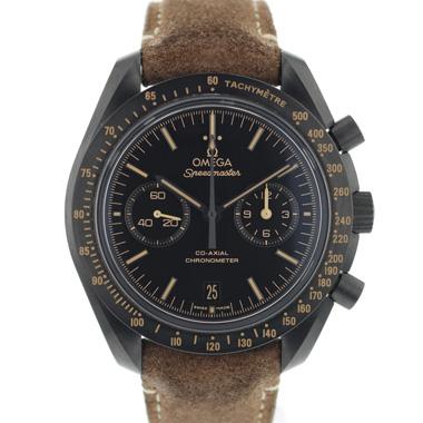 Omega - Speedmaster Moonwatch Co-Axial Dark Side of the Moon Vintage Black