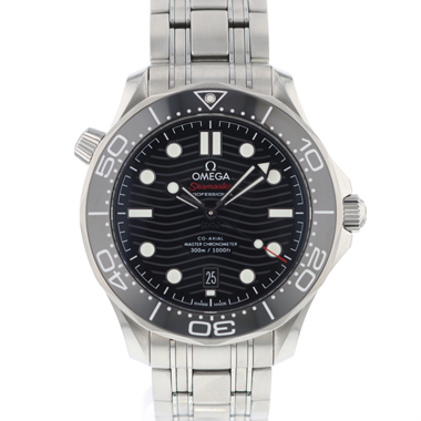Omega - Seamaster Diver 300M Co-Axial Black Wave Dial