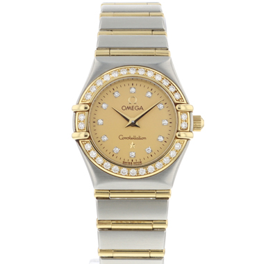 Omega - Constellation Steel/Gold Diamonds