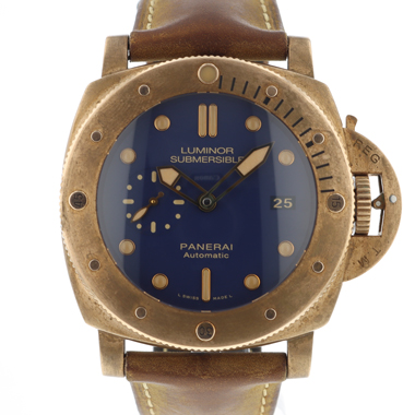 Panerai - Luminor Submersible 1950 3 Days Automatic Bronzo Blue Limited
