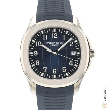 Patek Philippe - Aquanaut White Gold Blue  5168G NEW!
