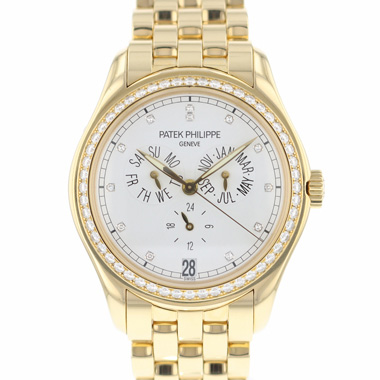 Patek Philippe - Annual Calendar Yellow Gold Diamonds