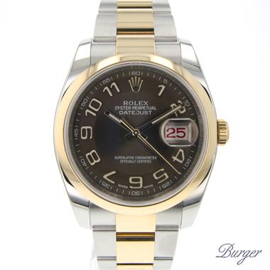 Rolex - Datejust 36 Steel/Gold Bronze Arabic