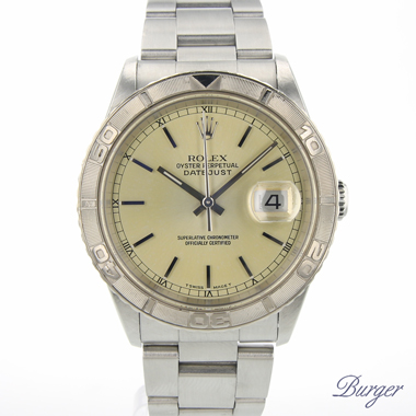 Rolex - Datejust Turn-O-Graph Champagne Dial