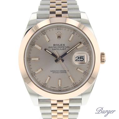 Rolex - Datejust 41 Steel Everose Gold Jubilee