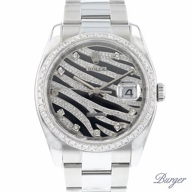 Rolex - Datejust Zebra Dial