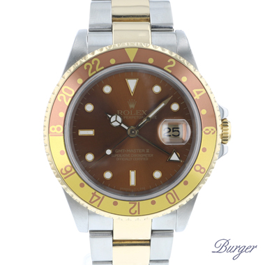 Rolex - Gmt-Master II Tigereye Gold/Steel