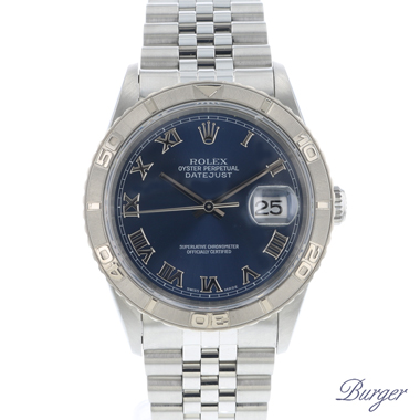 Rolex - Datejust Turn-O-Graph Blue Dial