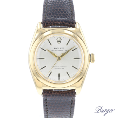 Rolex - Oyster Perpetual Bubble back Yellow Gold