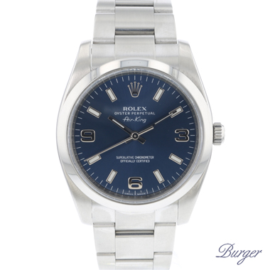 Rolex - Oyster Perpetual Air King 34 Blue Dial