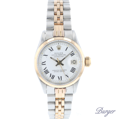 Rolex - Oyster perpetual Lady Date Steel / Rose Gold