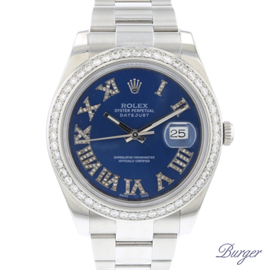 Rolex - Datejust II Blue Diamonds