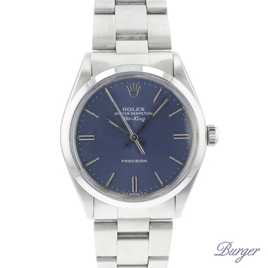 Rolex - Airking Precision Blue Dial
