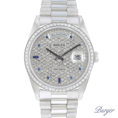 Rolex - Day-Date White Gold Diamonds