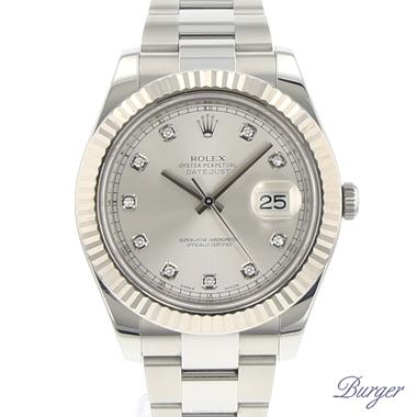 Rolex - Datejust II Fluted Diamonds