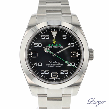 Rolex - Oyster Perpetual Air-King 40 MM IN STICKERS NEW!