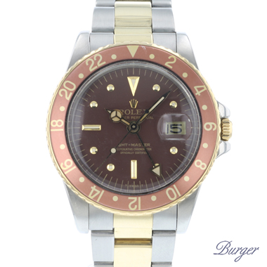 Rolex - Gmt-Master Gold/Steel Nipple Dial