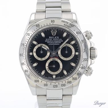 Rolex - Daytona Steel Black Dial