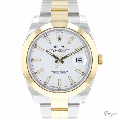 Rolex - Datejust 41 Gold/Steel NEW!