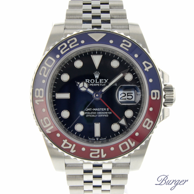 Rolex - GMT-Master II Pepsi 126710 BLRO NEW! IN SEALS .