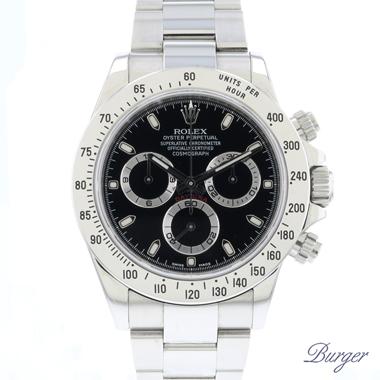Rolex - Daytona Steel Black