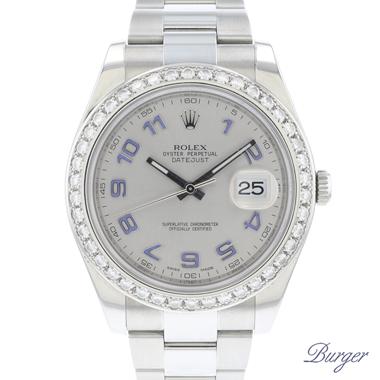Rolex - Datejust II  Rhodium Diamonds