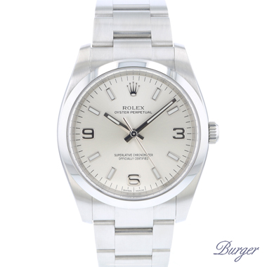 Rolex - Oyster Perpetual 34 Silver