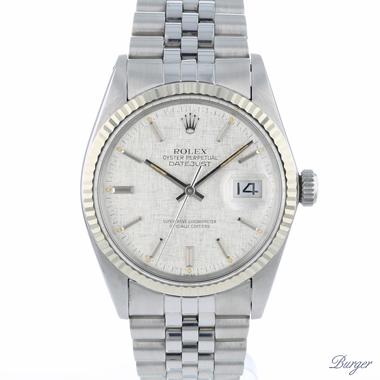 Rolex - Datejust 36 Linen Dial Fluted