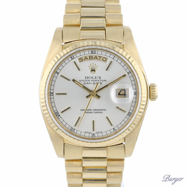 Rolex - Day-Date 36 President Yellow Gold