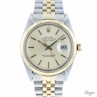Rolex - Datejust 36 Steel/Gold Jubilee Fluted Pie Pan Dial