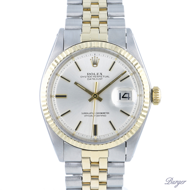 Rolex - Datejust 36 Steel/Gold Jubilee Fluted Pie Pan Dial