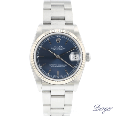 Rolex - Datejust 31 Steel Fluted Blue Dial
