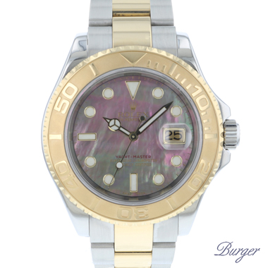 Rolex - Yachtmaster 40 Steel / Gold MOP Dial