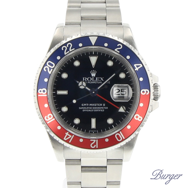 Rolex - Gmt-Master II Pepsi Swiss Only Dial