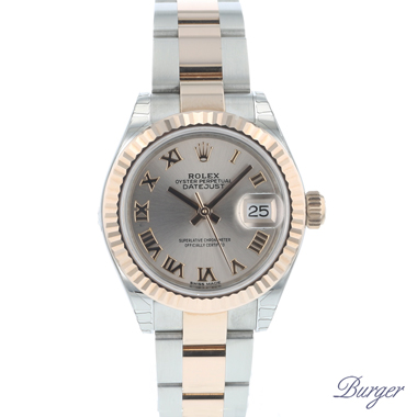 Rolex - Datejust Lady 28 Steel Everose Gold Fluted NEW!