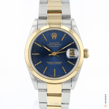 Rolex - Datejust 31 Steel/Gold Blue Dial