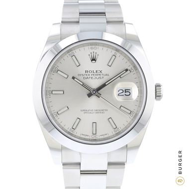 Rolex - Datejust 41 Oyster Silver Dial