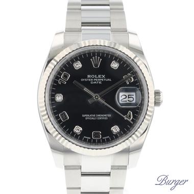 Rolex - Oyster Perpetual Date Diamonds