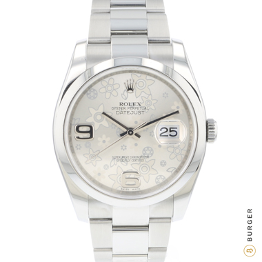 Rolex - Datejust 36 Flower Dial