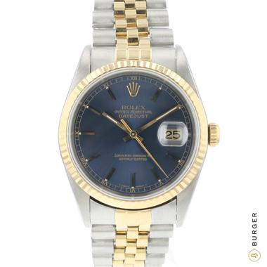 Rolex - Datejust 36 Steel/Gold Jubilee Blue Dial