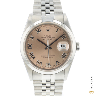 Rolex - Datejust 36 Pink Dial