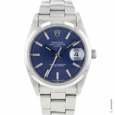Rolex - Oyster Perpetual Date 34 Blue Dial