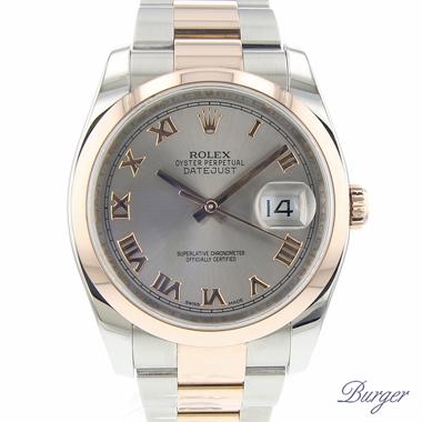 Rolex - Datejust 36 Rolesor Everose Domed